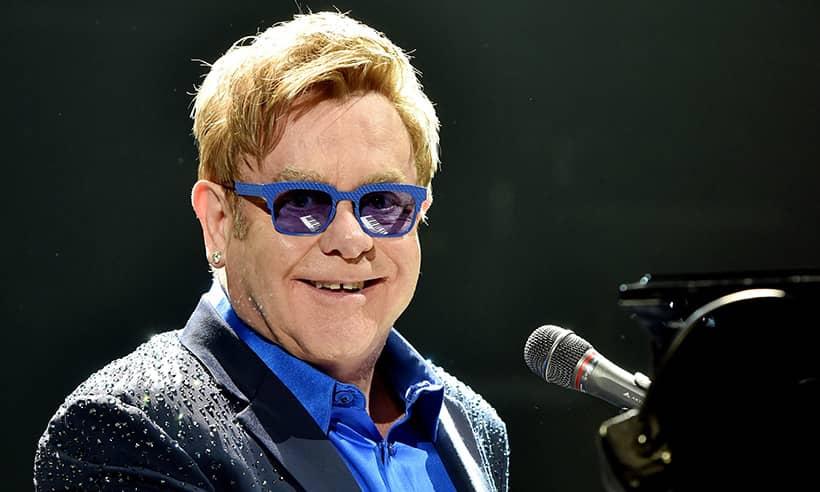 Lockdown means less Elton John