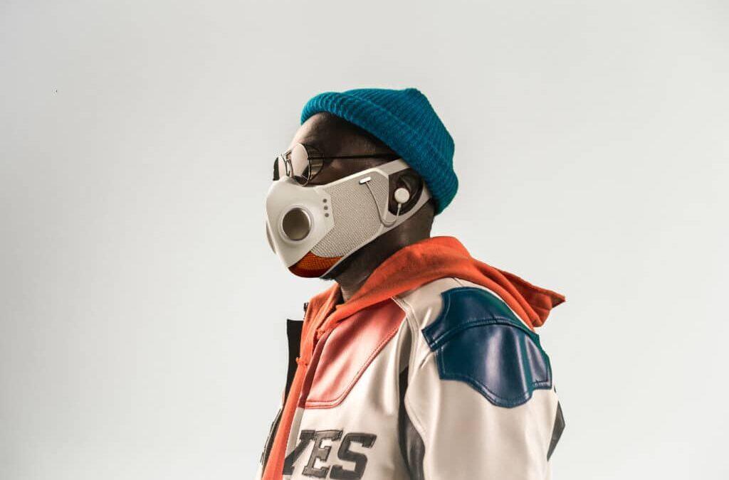 will.i.am Creates A New Anti Covid Face Mask