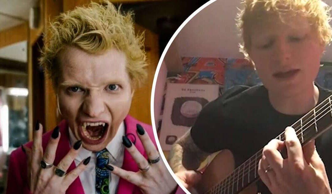 Ed Sheeran Is Singing About His Bad Habits