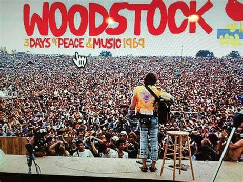 The 60's Culminate At Woodstock